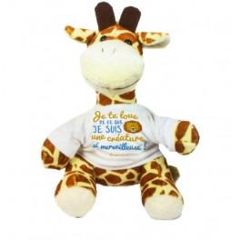 """Peluche girafe - Je te loue"""