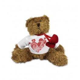 """""""Peluche ours avec coeur Je t'aime"""""""