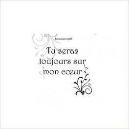 """""""Tu seras toujours sur mon coeur"""" par Emmanuel Apffel"""