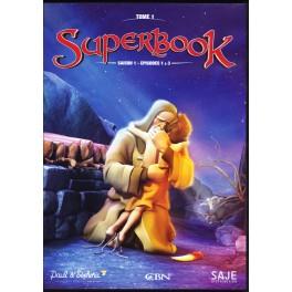"""""""DVD Superbook saison 1"""" épisodes 1 à 3"""