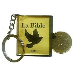 """porte-clé mini-Bible - Evangile de Marc"""