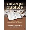 """""""Les versets oubliés - mes bonheurs de prédicateurs farfouiller"""" par Jean-Claude Chabloz"""