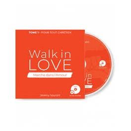 """""""CD - MP3 Walk in love - Marche dans l'amour"""" de Jérémy Sourdril"""