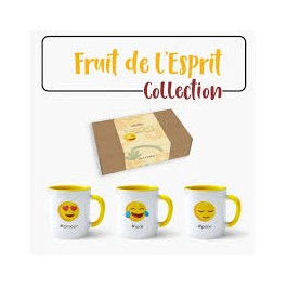 """Lot de 3 MUGS - Fruit de l'Esprit"" No 3"