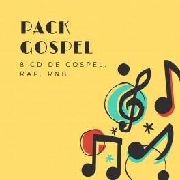 """""""Pack Gospel"""" 8 CD de Gospel"""