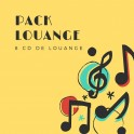 """Pack louange"" 8 CD"