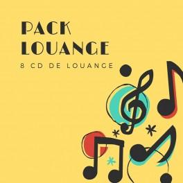 """""""Pack louange"""" 8 CD"""