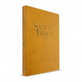 """""""Bible 911 - confort, souple , ocre, tranche or"""" Esaïe 55"""