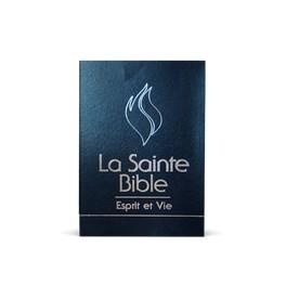 """""""Bible Esprit et vie - Edition Deluxe cuir bleu"""""""
