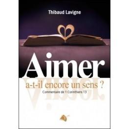 """""""Aimer a-t-il encore un sens?"""" par Thibaud Lavigne"""