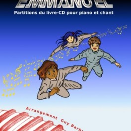 """""""Le programme spatial Emmanuel - partitions du livre-cd"""" par  May Chan et Thierry Ostrini."""